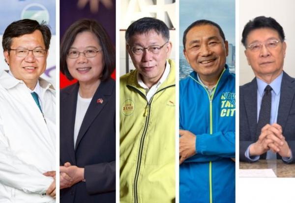 《遠見》2021年台灣政治人物印象分數評比